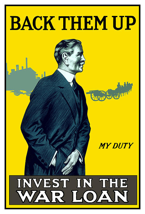 Invest In The War Loan Print by War Is Hell Store