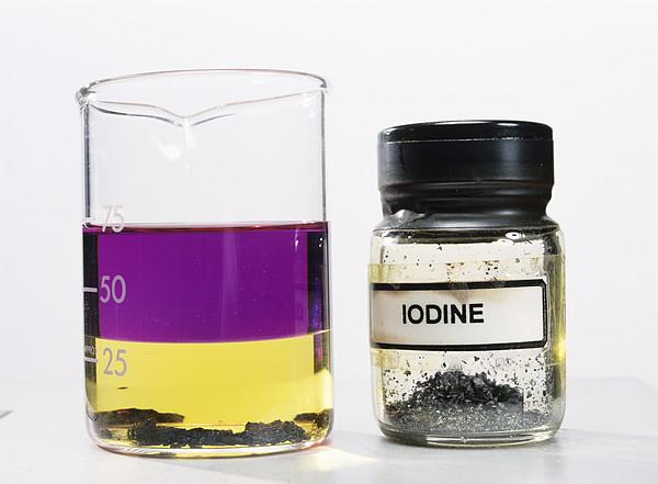Iodine Properties Print by Andrew Lambert Photography