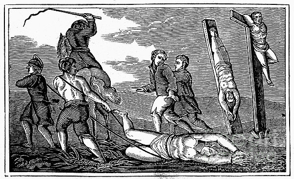 Ireland: Cruelties, C1600 Print by Granger