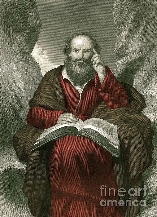 Isaiah, Old Testament Prophet Print by Photo Researchers