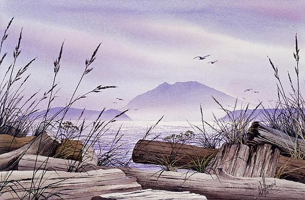 Island Splendor Print by James Williamson