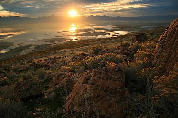 Gene Praag - Island Sunrise