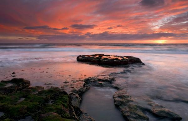 Isle Of The Setting Sun Print by Mike  Dawson