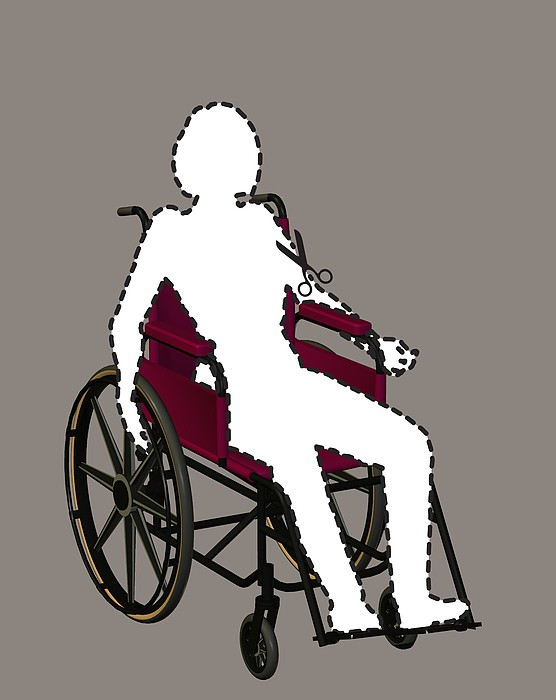 Isolation Through Disability, Artwork Print by Stephen Wood