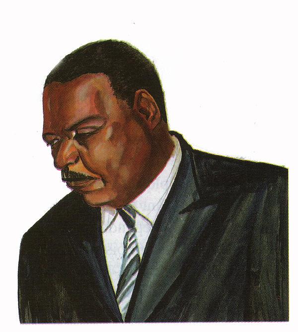 Issa Hayatou Print by Emmanuel Baliyanga