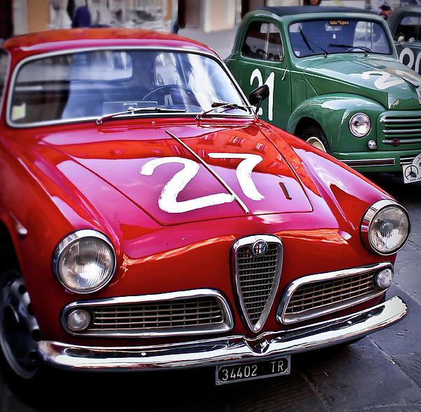 Italian Classics Alfa Romeo Print by Patrick English
