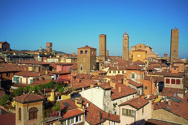 Italy, Emilia-romagna, Bologna, Cityscape Print by Bruno Morandi