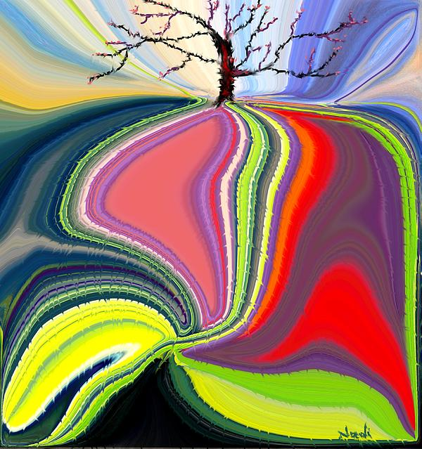 Its A Tree's Life Print by Renate Nadi Wesley