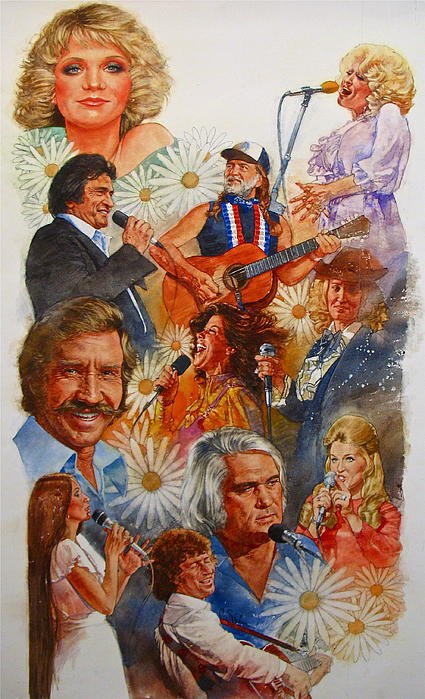 Its Country 1 Print by Cliff Spohn