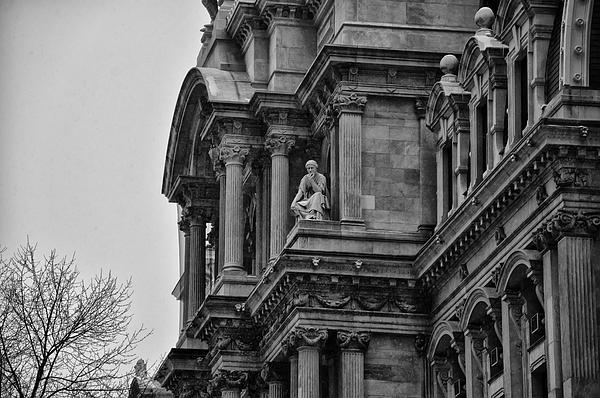 It's In The Details - Philadelphia City Hall Print by Bill Cannon