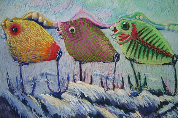 Itty Bitty Pond Print by Barbara Richert