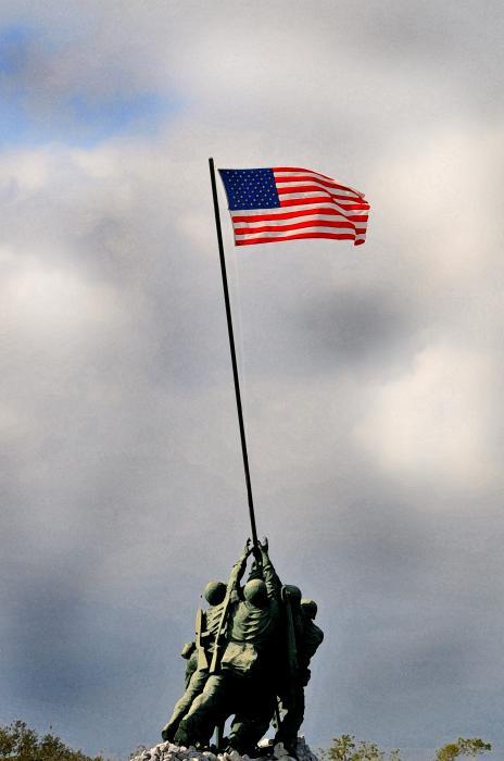 Iwo Jima Print by Lyle  Huisken