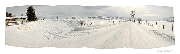 Larry Mulvehill - Jackson Hole Snow Road - 1