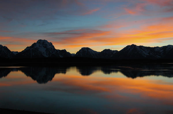 Steve Stuller - Jackson Lake Sunset