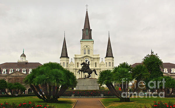 Jackson Square Print by Perry Webster