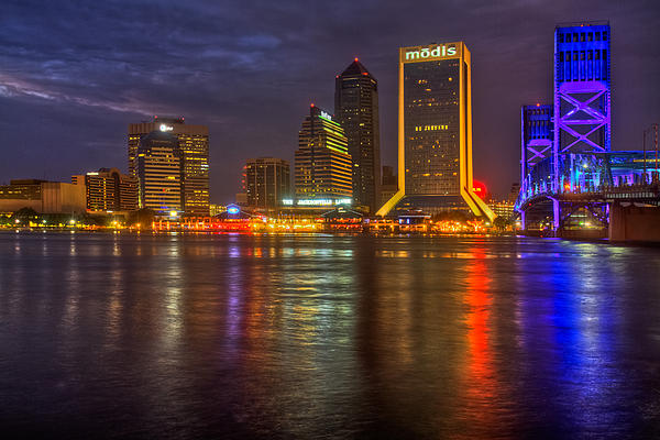 Debra and Dave Vanderlaan - Jacksonville at Night