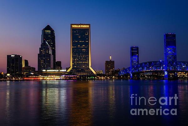 Dawna  Moore Photography - Jacksonville Florida Skyline