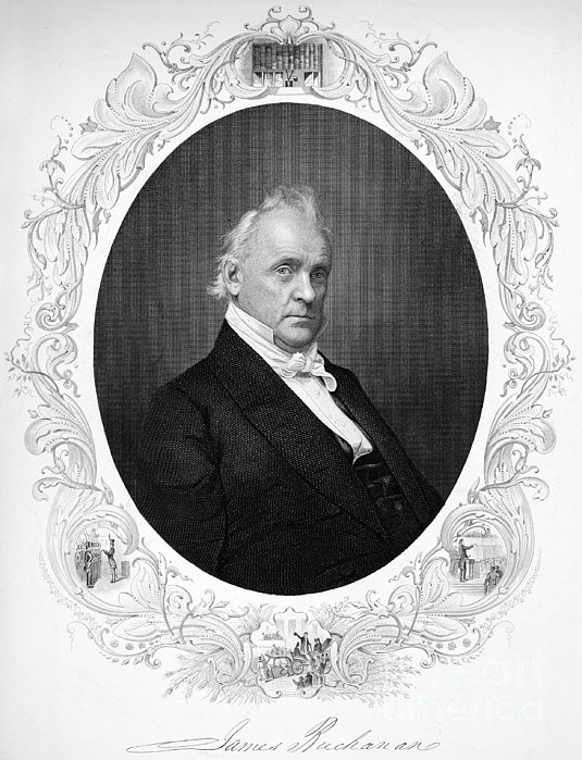 James Buchanan (1791-1968) Print by Granger