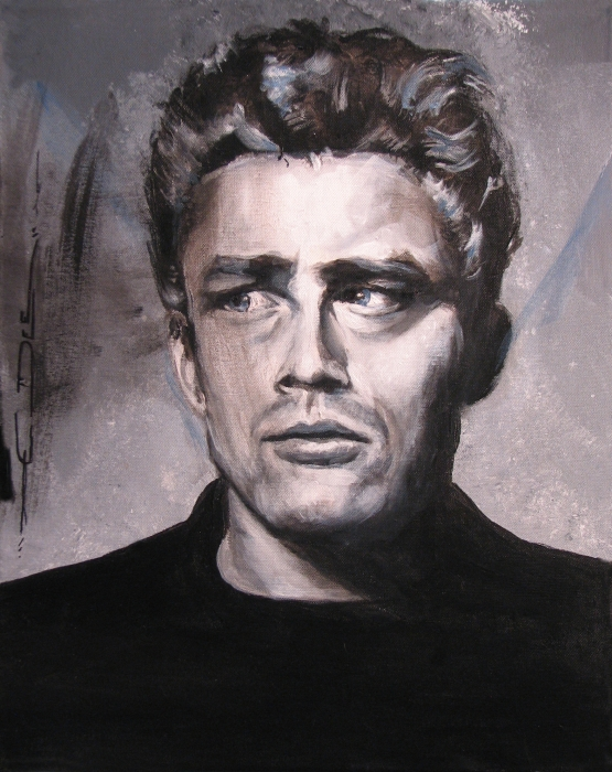 James Dean Two Print by Eric Dee