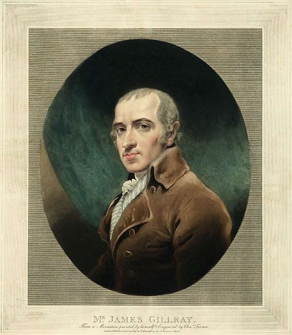 James Gillray, British Caricaturist Print by Miriam And Ira D. Wallach Division Of Art, Prints And Photographsnew York Public Library