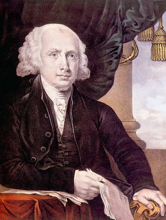 James Madison 1751-1836, U.s. President Print by Everett