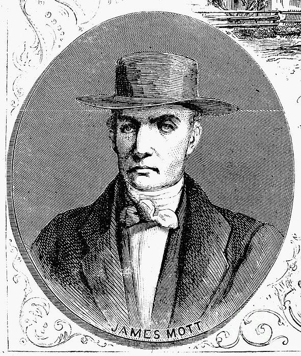 James Mott (1788-1868) Print by Granger