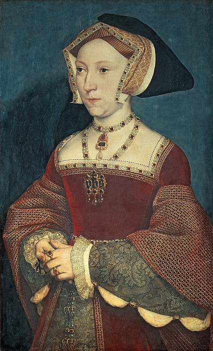 Jane Seymour Print by Holbein