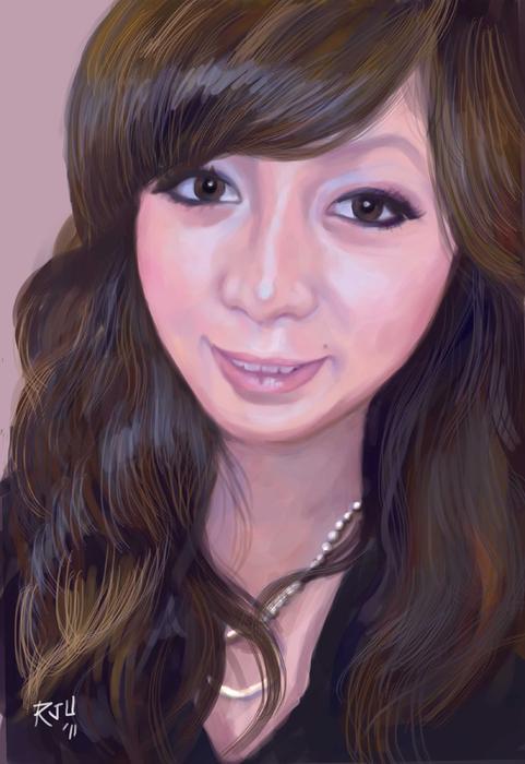 japanese girl roy ugang Japanese Girl Digital Art   Roy Ugang