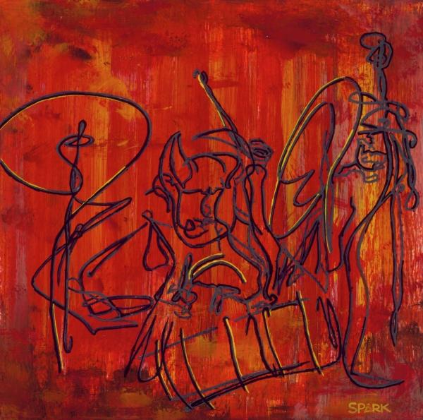 Jazz 47 Print by Steve Park