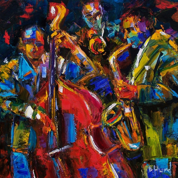 Jazz Painting  - Jazz Fine Art Print
