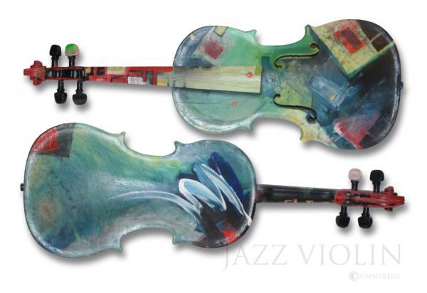 Jazz Violin - Poster Print by Tim Nyberg