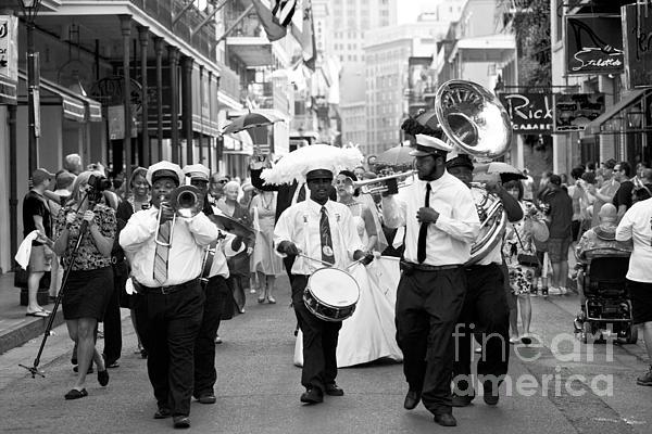 Jazz Wedding Print by Leslie Leda
