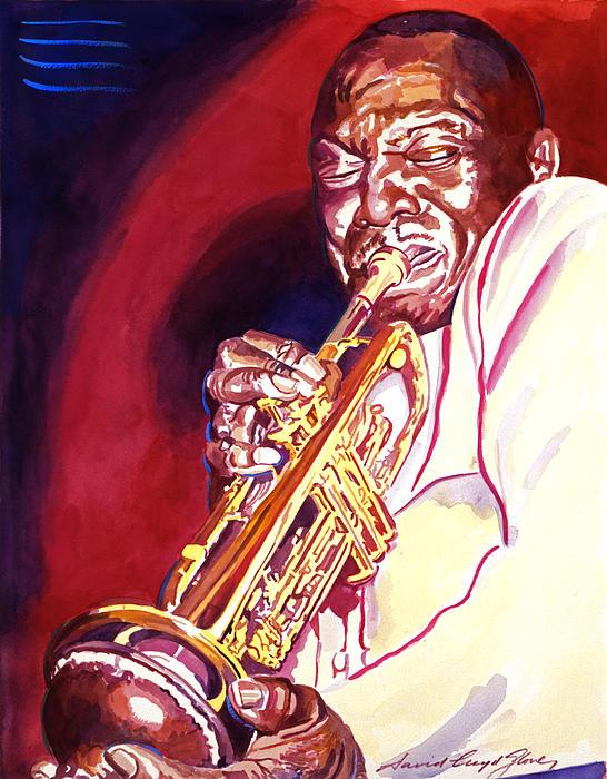 Jazzman Cootie Williams Print by David Lloyd Glover
