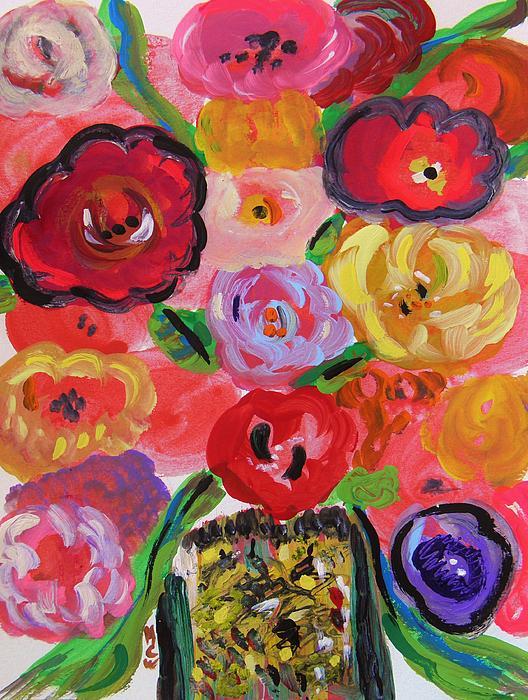 Mary Carol Williams - Jazzy Flowers Jazzy Vase