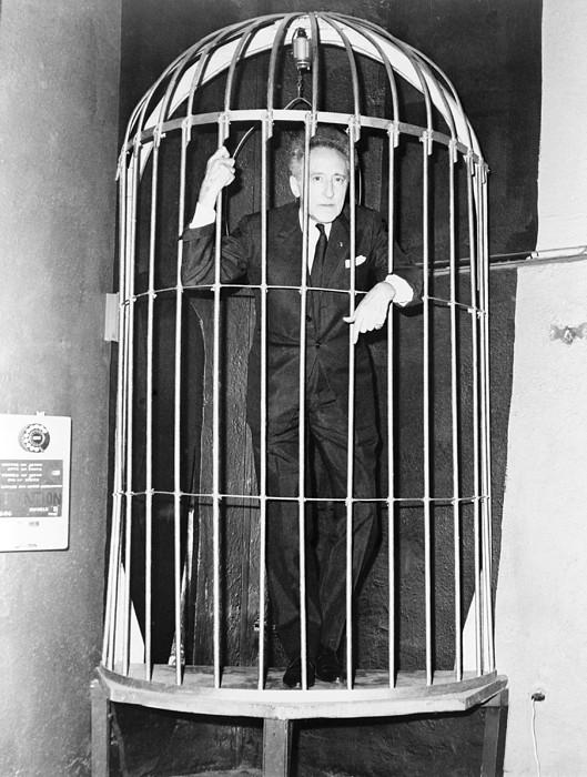 Jean Cocteau 1889-1963, Inside A Huge Print by Everett