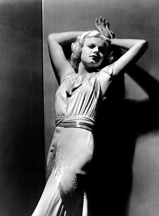 Jean Harlow, 1930s Print by Everett