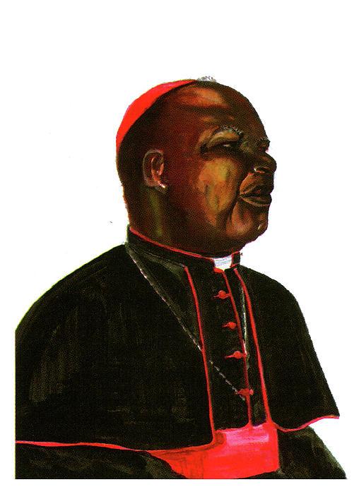 Jean Zoa Print by Emmanuel Baliyanga