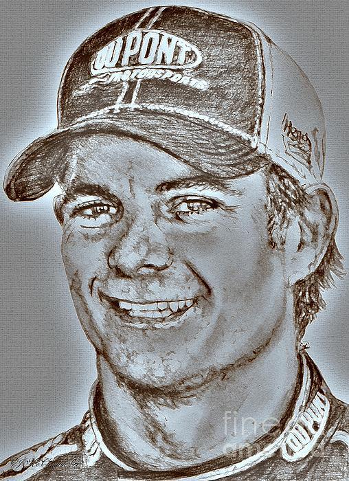 Jeff Gordon In 2010 Print by J McCombie