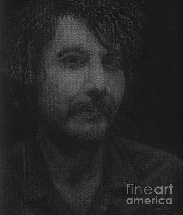 Jeff Tweedy Print by Dan Lockaby
