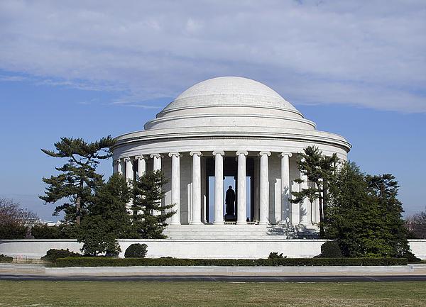 Jefferson Memorial - Washington Dc Print by Brendan Reals
