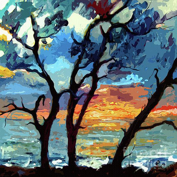 Ginette Fine Art LLC Ginette Callaway - Jekyll Island Sunrise Painting