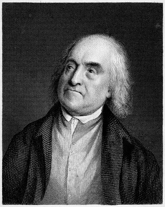 Jeremy Bentham, English Social Reformer Print by Middle Temple Library