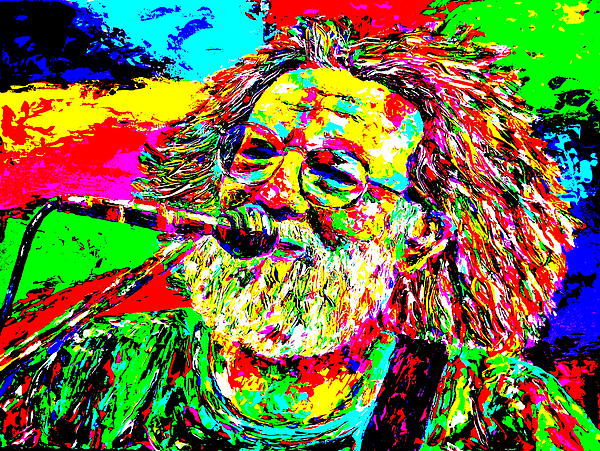 Jerry Print by Mike OBrien