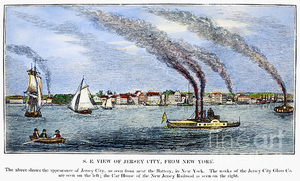 Jersey City, 1844 Print by Granger