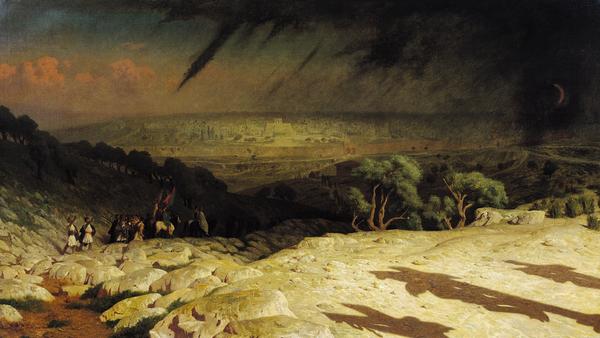Jerusalem Print by Jean Leon Gerome