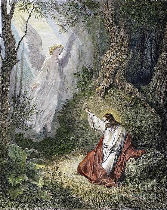 Jesus Agony In Garden Print by Granger
