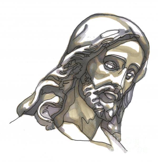 Jesus No 1 Print by Edward Ruth