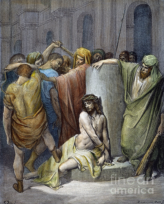 Jesus: Scourging Print by Granger