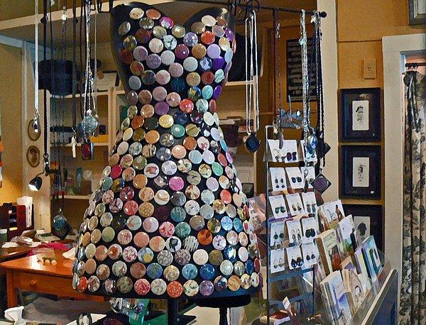 Jewelry Shoppe Print by Pamela Patch