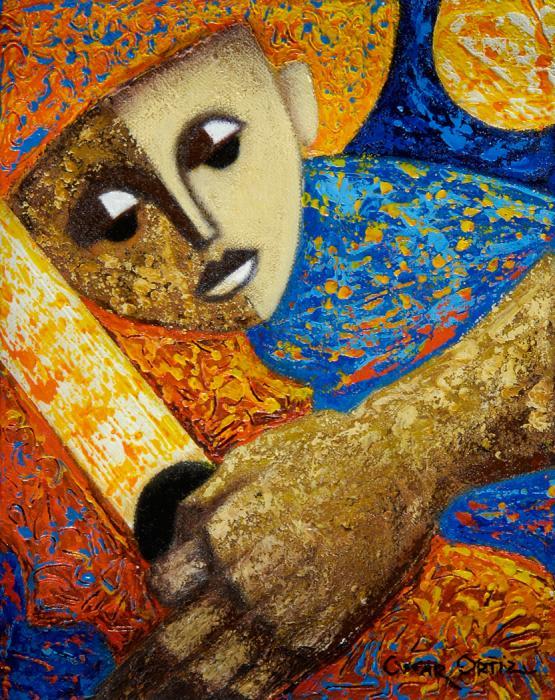 Jibaro Y Sol Print by Oscar Ortiz
